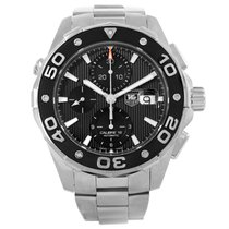 TAG Heuer Aquaracer Black Dial Stainless Steel Mens Watch Caj2110