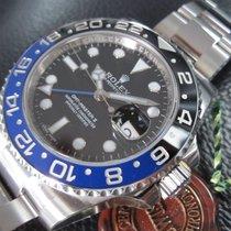 Ρολεξ (Rolex) GMT II Blue Black Bezel