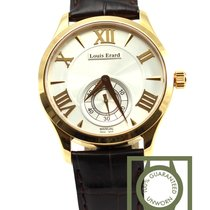Louis Erard manual yellow gold white dial