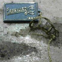 Eberhard & Co. vintage tag grey plastic
