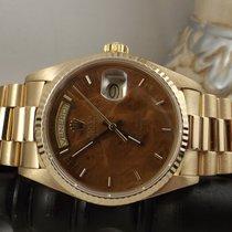 Rolex Day-Date ref. 18038 President Wood Dial Radica chiara