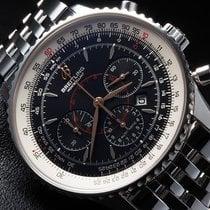 Breitling Navitimer Montbrillant Chronograph Pilot Steel 38 mm...