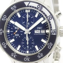 IWC Polished Iwc Aqua Timer Chronograph Steel Automatic Watch...
