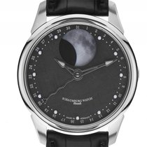 Schaumburg Watch Moon Meteorite Stahl Automatik 43mm Box&P...