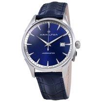 Hamilton Men's H32451641 Jazzmaster Gent Quartz Blue Dial...