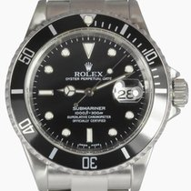 Rolex Submariner Date Men's Steel Watch, Black Dial and...