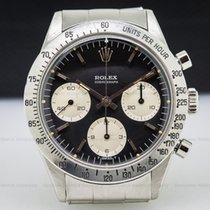 Rolex 6239 Daytona Cosmograph Black Dial Pump Pushers Circa...