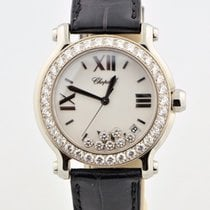 Chopard Happy Sport Round Diamonds Medium Stainless Steel 36mm...