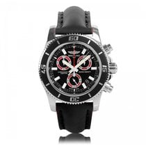 Breitling Superocean Chronograph 46mm Red Mens Watch A73310A8/...