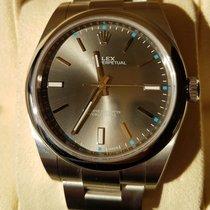 Rolex Oyster Perpetual 39 Dark Rhodium Dial