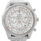 Breitling Bentley Motors Chronograph Silver Dial Mens Watch...