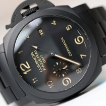 파네라이 (Panerai) LUMINOR GMT 1950 3 DAYS ALL BLACK CERAMIC PAM438