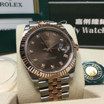 Rolex Cally - 2017 New Model DATEJUST II126331 Chocolate Diamond