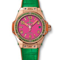 Hublot ONE CLICK POP ART KING GOLD APPLE