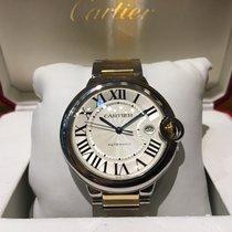 Cartier Ballon Bleu 42mm Automatic Steel and Gold