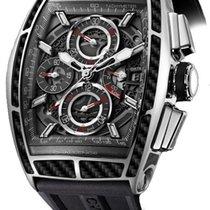 Cvstos Chrono II Challenge Men's Watch, Steel with Black...