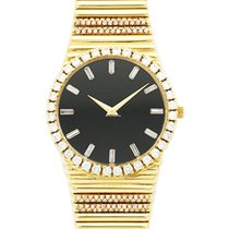 Piaget 12336 Emperador in Yellow Gold with Diamond Bezel - on...