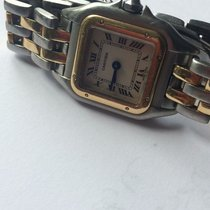 Cartier Panthere 1120 Steel/Gold White Dial 22mm