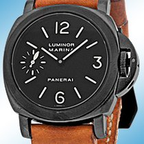 """Panerai Gent's PVD Black Stainless Steel 44mm  """"Lumino..."""