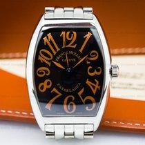 Franck Muller 6850 CASA Casablanca SS Black Sahara Dial (26502)