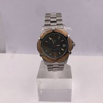 TAG Heuer vintage 1999 PROFESSIONAL 200M gold an steel ref WN1151
