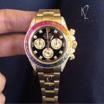 Rolex Daytona Rainbow yellow gold 116598RBOW