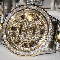 Rolex Datejust Oyster Perpetual 18K Gold Diamonds