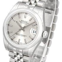 Rolex Datejust, Ref. 178240 - silber Index Zifferblatt/Jubilee...