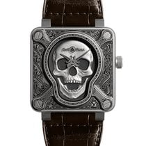 Bell & Ross Men's  BR 01 BURNING SKULL Limited 500pcs...