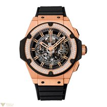 Hublot King Power 18K Rose Gold M'ens Watch