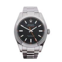 Rolex Milgauss Stainless Steel Gents 116400 - W3447