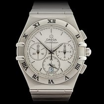オメガ (Omega) Constellation Double Eagle Chronograph Stainless...