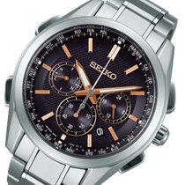 セイコー (Seiko) セイコー ブライツ ソーラー電波 メンズ クロノ 腕時計 SAGA199 ブラック 国内正規