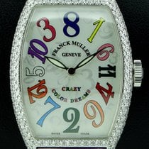 Franck Muller Crazy Hour Set Diamond 18kt White Gold, full set