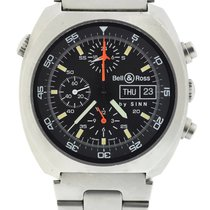 Bell & Ross By Sinn Space 1 Chronograph Stainless Steel