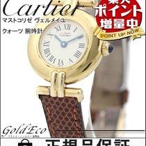 까르띠에 (Cartier) 【カルティエ】マストコリゼ ヴェルメイユ クォーツ 腕時計 925 QZ ゴールド メッキ...