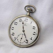 Omega relógio de bolso ano 1925 corda manual