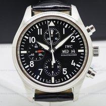 IWC IW371701 Pilot Chronograph SS / Alligator (26367)