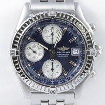 Breitling Chronomat GT Chronograph  Blue Dial Datum Schnellsch...