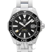 TAG Heuer Aquaracer Calibre 5 Automatic Black Steel 41mm -...