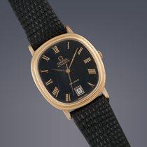 Omega De Ville gold plated automatic watch