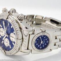 "Breitling ""A13356 Chronomat Evolution UTC GMT Chronograph&..."