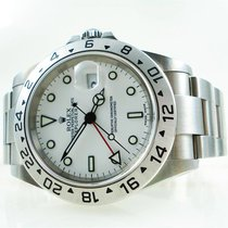 Rolex Explorer II 16570 weiss B&P 2004 TOP