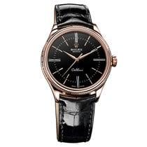 Rolex CELLINI TIME rose gold Black dial