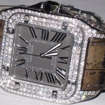 Cartier Santos 100 XL Diamonds