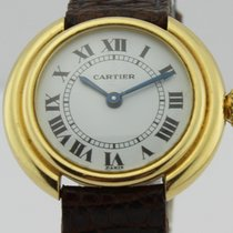 Cartier Round Vendome 18k Gold Ladies