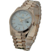 Rolex Unworn 118235 Mens Rose Gold Day - Date President in...