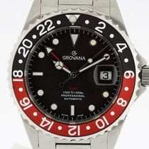 Grovana Automatic Diver GMT COKE Bezel NEW 2 Years Warranty...