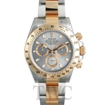 롤렉스 (Rolex) Daytona Silver/18k gold Ø40mm - 116523