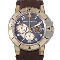 Harry Winston Ocean Diver Mens Automatic Watch 410/MCA44RZ